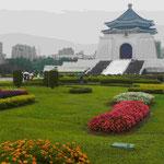 Grabmal des taiwanesichen Diktators Tschang-Kai-Tschek in Taipeh