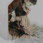 Adolf Menzel:Lithographie, Märkisches Museum Berlin