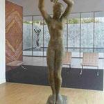 Kopie der Tänzerin im Barcelona Pavillion, Georg-Kolbe Museum