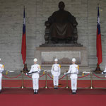 Im Innern des Grabmals des taiwanesischen Diktators Tschang-Kai-Tschek in Taipeh