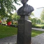 Gandhi-Büste in Quebec, Kanada