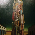 Georgi di Chirico, Große Metamorphose, Sammlung Scharf-Gerstenberg, Nationalgalerie Berlin