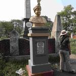 Denkmal für den letzten unabhängigen Nawab Siraj-ud-Daula, der die Schlacht von Plassy gegen die britische Ostindien Kompagnie 1757 verlor
