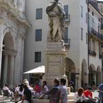 Denkmal des Architekten Andrea Palladio in Vicenza, Italien