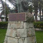 Kolumbusdenkmal auf Porto Santo, Portugal