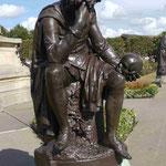 """""""Hamlet"""" Denkmal in Stratford-upon-Avon"""