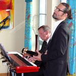 Launige Musik boten Thomas Hannich und Carsten Wenzel