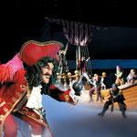 Peter pan et CROCHET au Zénith de Paris avec Disney pour Noël 2012