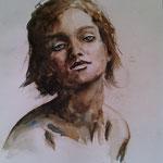 aquarelle-brou de noix 30x40