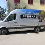 Autobeschriftung Prebena AG Uetendorf