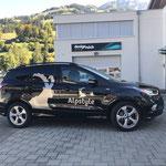 Folienlogos Ford Kuga Alpstyle Immobilien