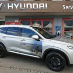Beschriftung Hyundai Lochbrunner Bestattungen Spiez