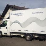 Beschriftung Fahrzeugflotte Krompholz Bern