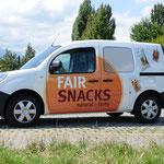 Autowerbung Fair Snacks