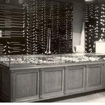 De monsterkamer met pijpen, foto van voor 1940