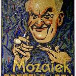 Mozaik naar ontwerp door Piet van der Hem, 1932
