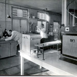 Het klei- en glazuurlaboratorium van voor 1940