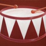 ドラム(31.8×41.0cm)