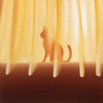 猫(22.7×22.7cm)