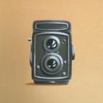 二眼レフカメラ(27.3×22.0cm)