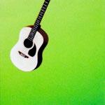 ギター(41.0×41.0cm)