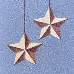 星のオーナメント(15.0×10.0cm)