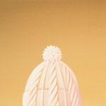 毛糸の帽子(41.0×41.0cm)
