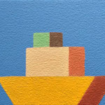 積み木(船)(10.0×15.0cm)