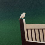 小鳥#1(15.0×15.0cm)