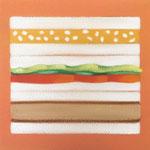 サンドイッチ(22.7×22.7cm)
