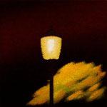 街灯(22.7×22.7cm)