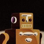 ロボット(15.0×20.0cm)