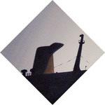 旅客船(22.7×22.7cm)