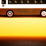 トラベリングバス(53.0×72.7cm)