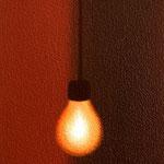 裸電球(22.7×15.8cm)