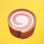ロールケーキ(22.7×22.7cm)