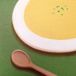 スープ(22.7×22.7cm)