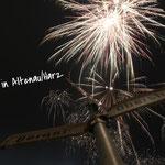 Feuerwerk in Altenau im Harz - Silvester
