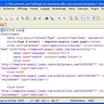 Étape 6: Code xHTML sur la page web grâce à Notepad++