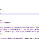 Code xHTML après modification
