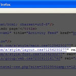 Code xHTML sur lequel trouver l'adresse CSS