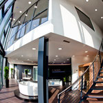 Panorama Aufgang EAGO Firmensitz