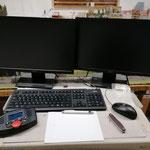Der Rangierbereich wurde auf PC-Steuerung umgebaut. Es ist aber auch Handsteuerung über Märklin C2 möglich.