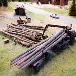 Der Holzverladeplatz wurde überholt....