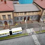 Starker Busverkehr am HBf