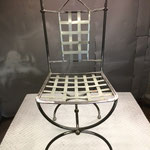 Chaise brute avant sablage