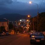 Dunedin by night