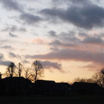 Sonnenuntergang bei Vahnum