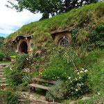 Hobbiton - In einem Loch im Boden wohnte ein Hobbit...