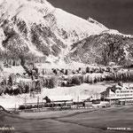 Postkarten Pontresina BB im Winter